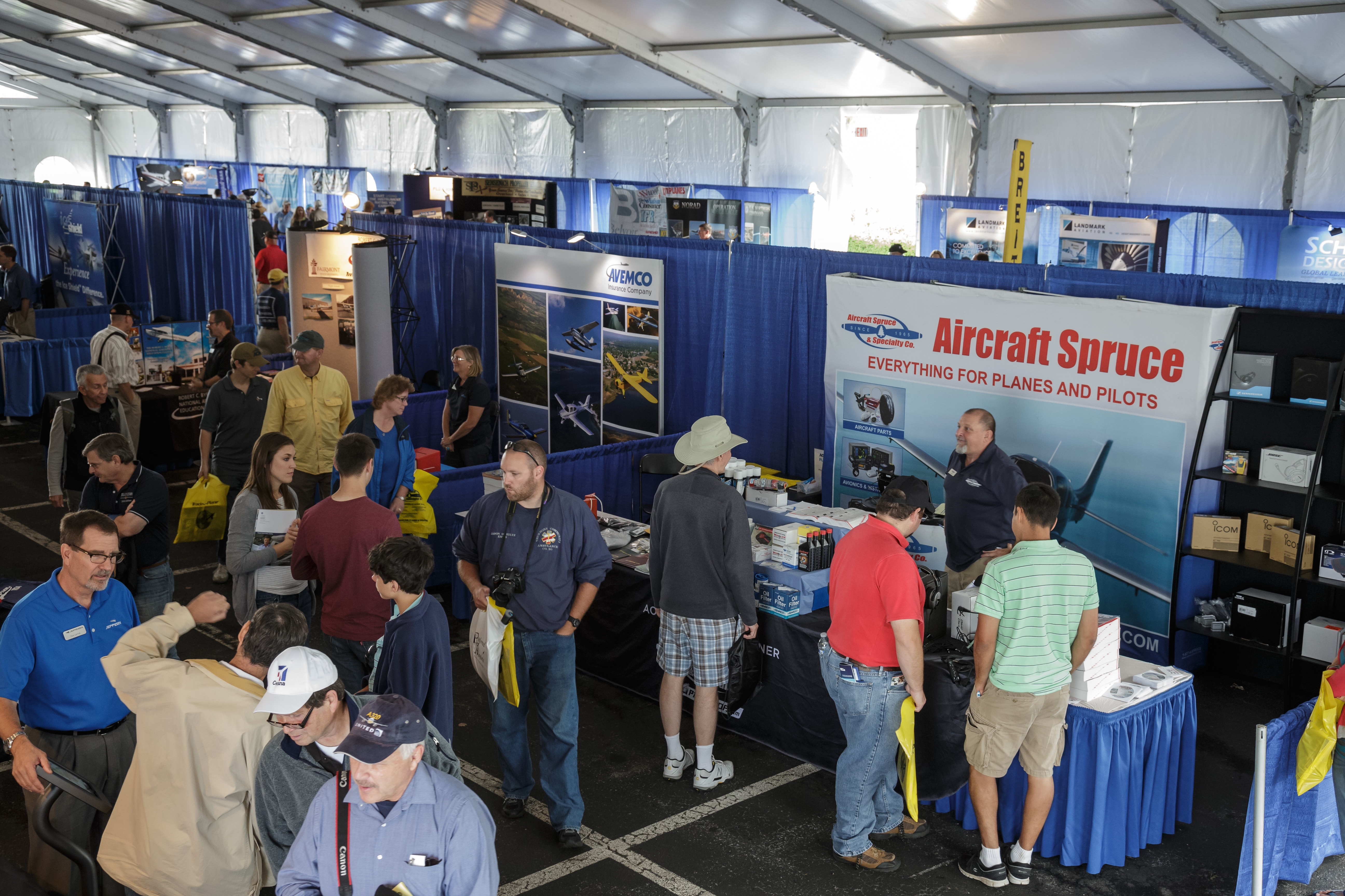 Photography of the 2014 AOPA Fly In at Frederick, MD.