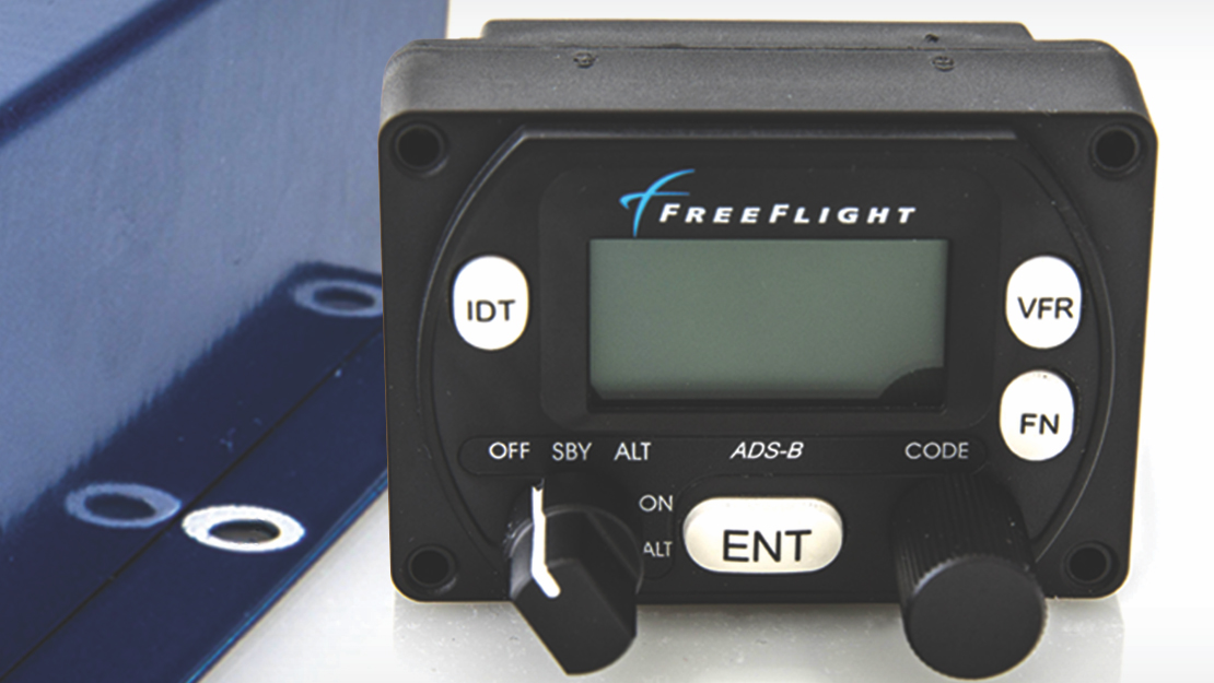 Companies like FreeFlight Systems are offering rebates on certain ADS-B Out compliant products. Image courtesy of FreeFlight Systems.