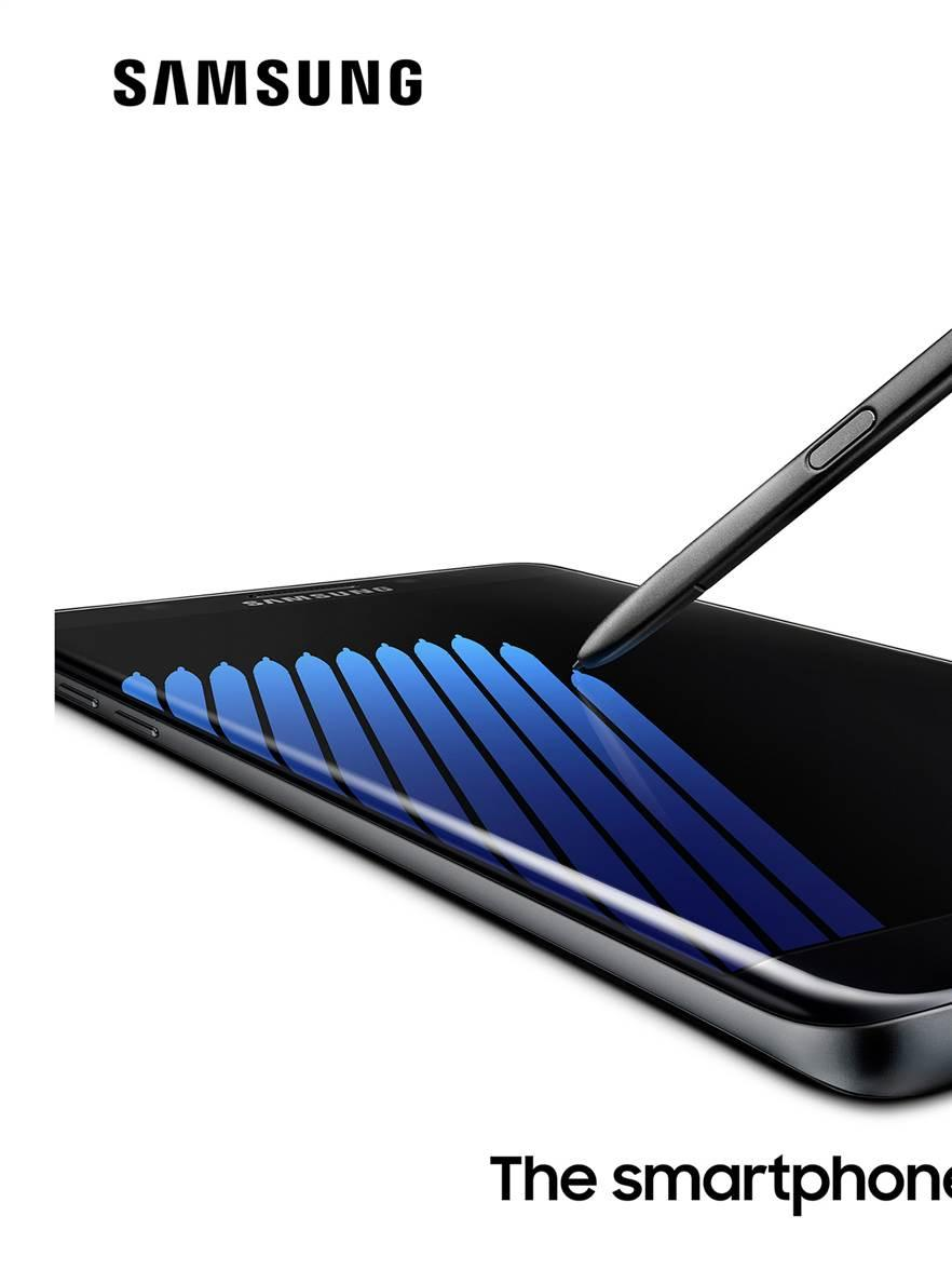 Samsung Galaxy Note7 image courtesy of Samsung.