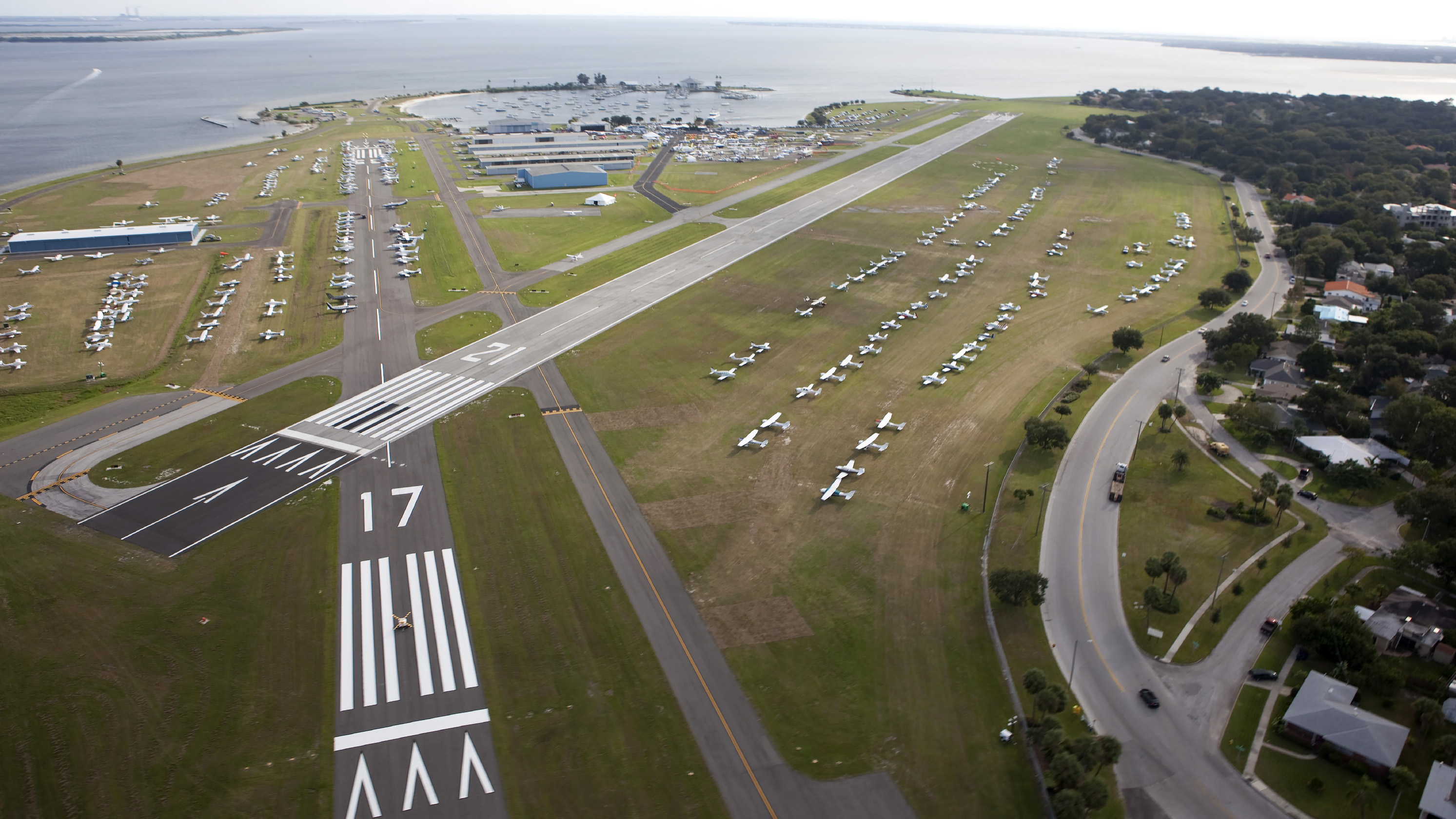 Peter O. Knight Airport in Tampa, Florida. Photo by Christopher Rose.