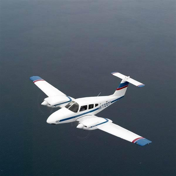 Piper Aircraft is changing up the engines on its PA-44 Seminole. The twin-engine trainer will be equipped with Continental's new CD-170 engine that runs on Jet A. AOPA file photo by Mike Fizer.