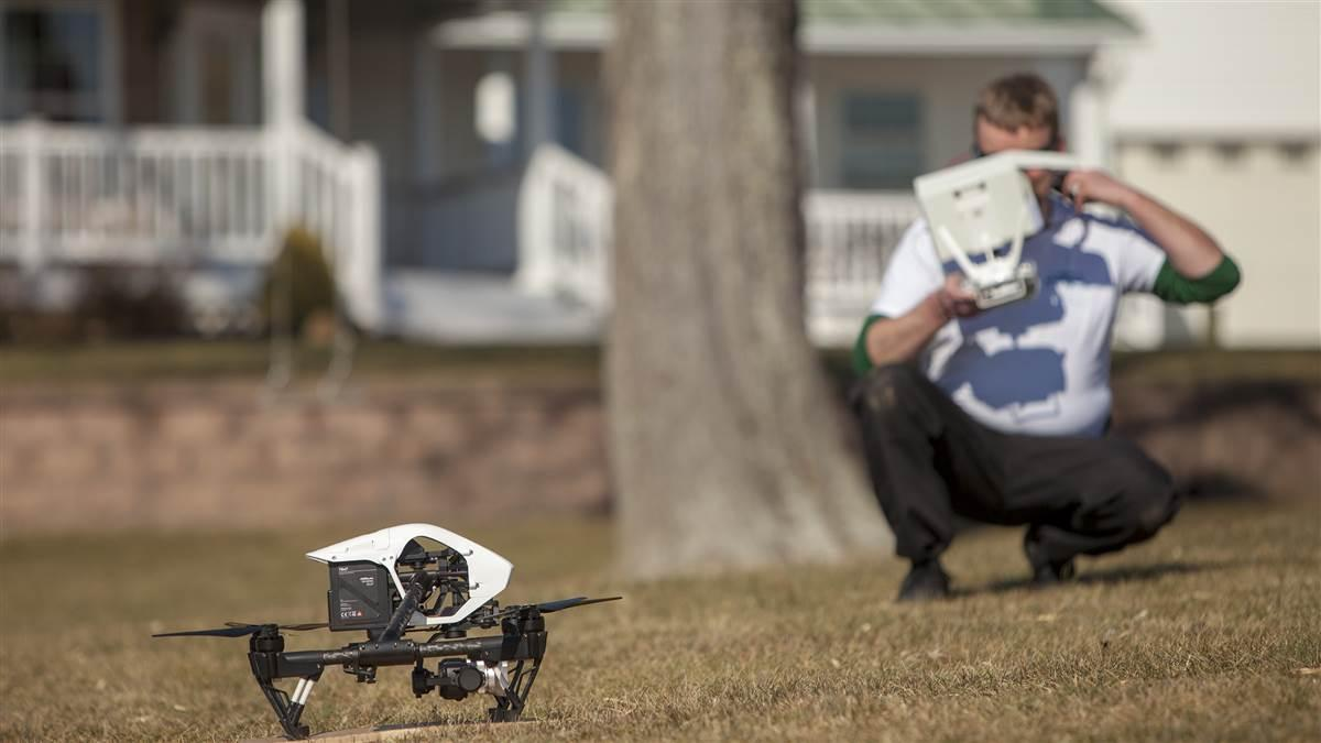AOPA has expanded the membership benefits for drone pilots. AOPA file photo.