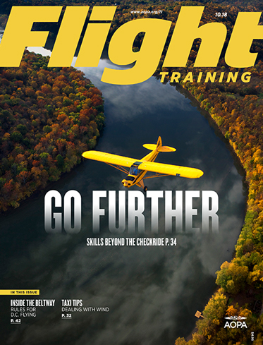 Flight Training October