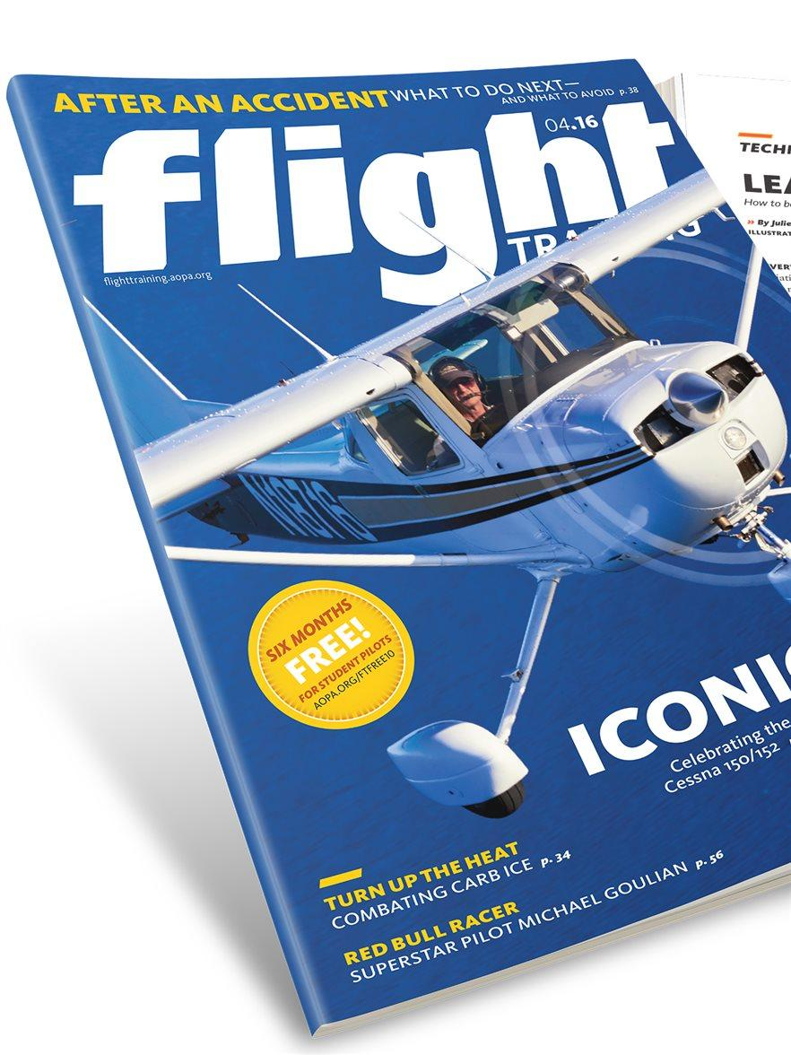 aopa flight training magazine
