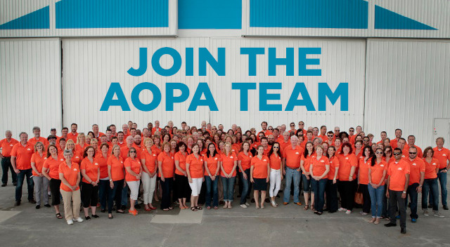 join the aopa team
