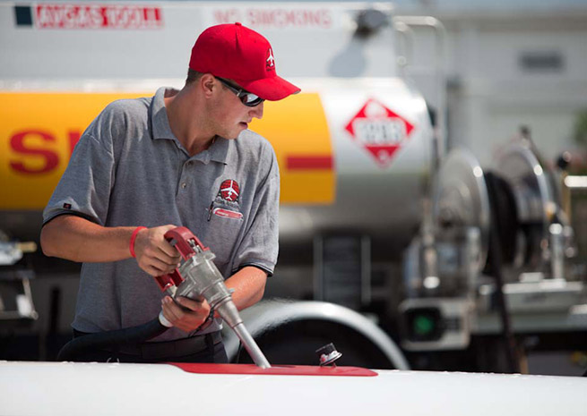 Shell is the first major oil company to announce an unleaded avgas formulation. File photo.