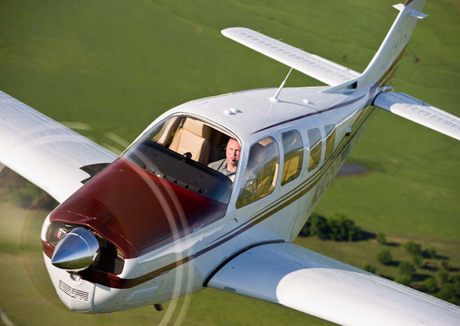 Textron buys Beechcraft, manufacturer of the popular Baron and Bonanza.