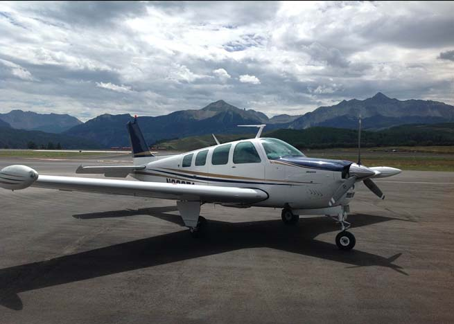 Creative use of an iPad and a cell phone helped Raymond Cody cope with trouble when the electrical system of his Beech Bonanza failed after takeoff from Telluride, Colo.