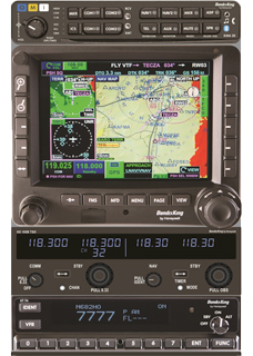 Along with Aspen's Evolution 2000 PFD and MFD, the RedHawk will come with Bendix/King's latest avionics package.