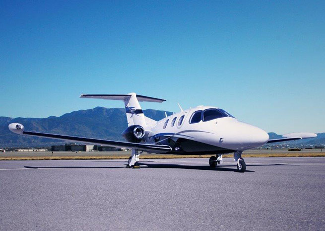 The Eclipse 550 light twinjet has support from Bruce Dickinson, lead singer for the heavy metal band Iron Maiden.