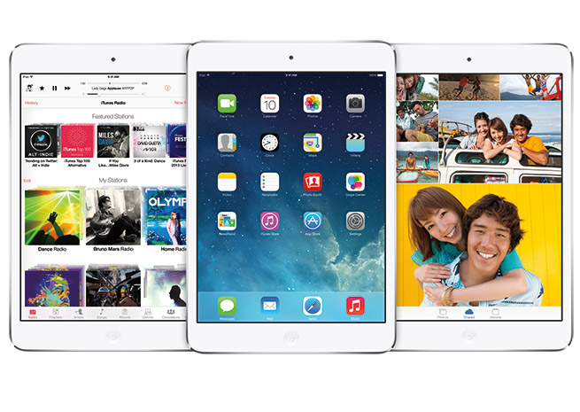 Apple launched iOS 7 Sept. 18. Image courtesy Apple.
