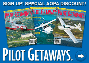 Subscribe to Pilot Getaways at a special AOPA members-only rate.