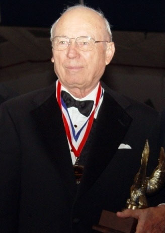 Ed Swearingen was inducted in 2006 into the Texas Aviation Hall of Fame. Business Wire photo.