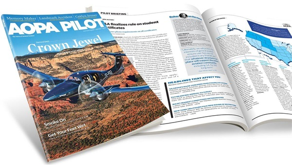 read the latest issue of the aopa pilot magazine