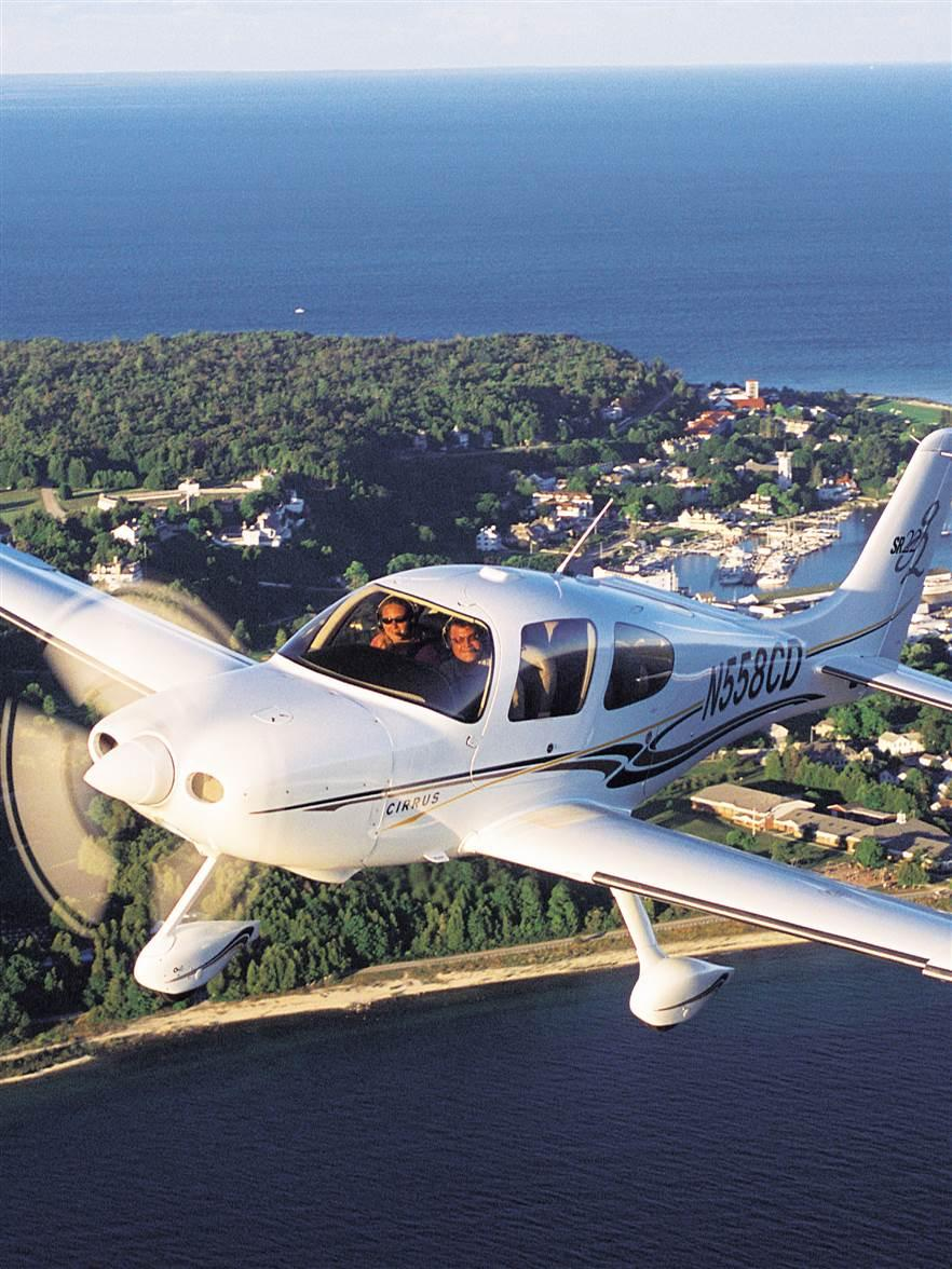 Mackinac Island Air Travel